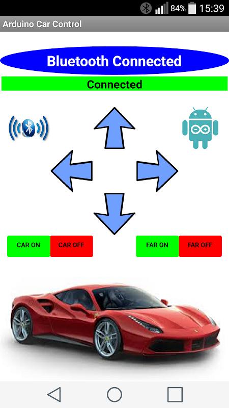 Arduino Car Control screenshot 2