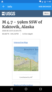 Earthquake Plus - Map, Info, Alerts & News screenshot 4