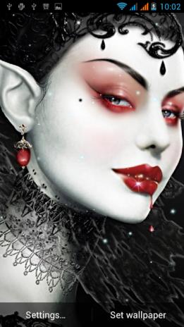 Vampire Live Wallpaper Screenshot 4
