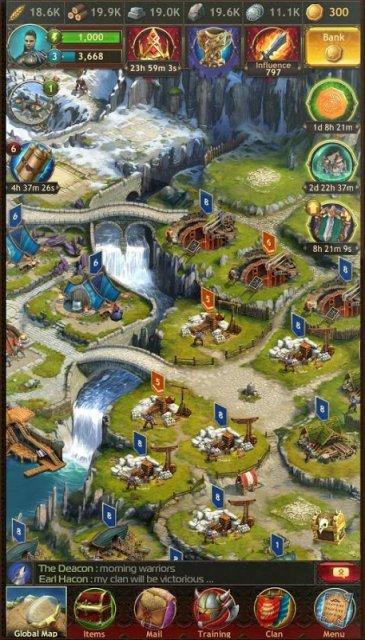 Vikings War of Clans apk скачать