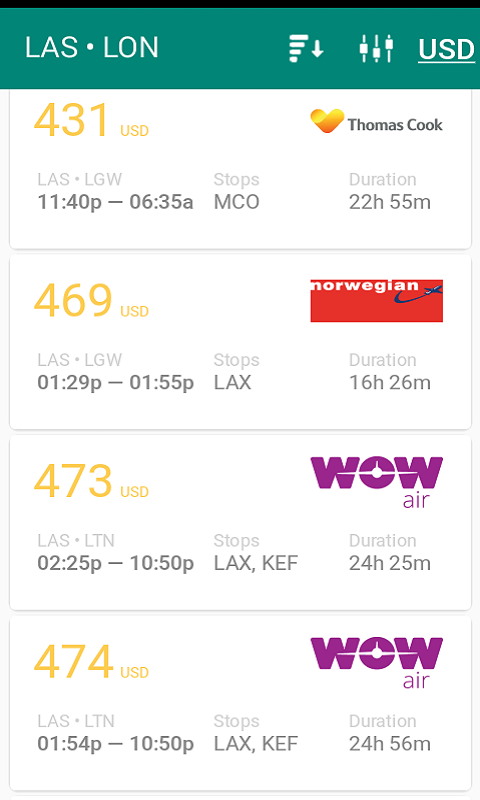 Cheap Flights and Airline Tickets screenshot 2