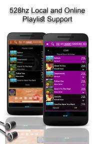 528 Player - Lossless 528hz Audio Music Player screenshot 3