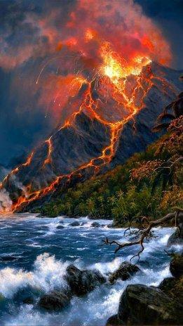 Unduh 9000 Wallpaper Bergerak Gunung Meletus HD Terbaru