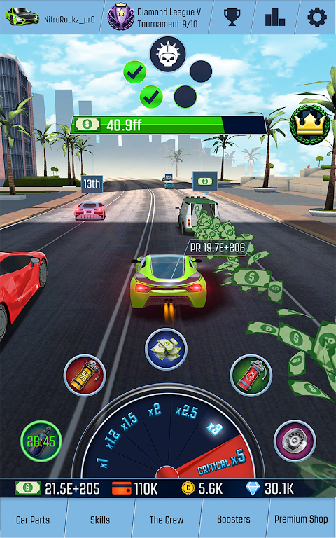 Idle Racing GO: Car Clicker & Driving Simulator screenshot 3
