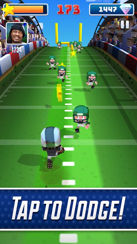 Blocky BEASTMODE® Football screenshot 2