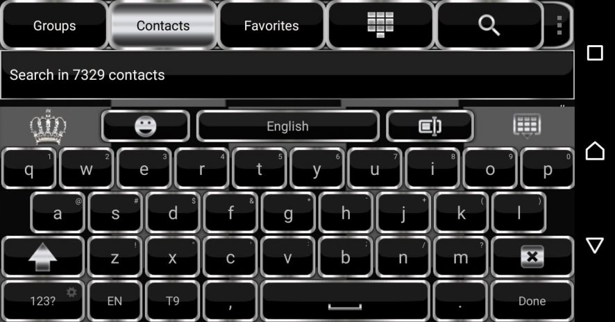 Silver Crown Keyboard Theme 10 Download Apk For Android Aptoide