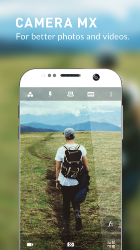 Camera MX - Photo & Video Camera screenshot 1