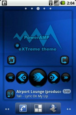 eXTreme skin for widg PowerAmp 2 0-build-22 Download APK for