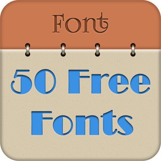 50 Fonts for Samsung Galaxy 4