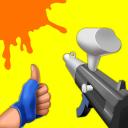 Paintball Shoot 3D - Knock Them All