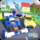 Crossy Brakes : Blocky Highway Voxel CarToon Racer