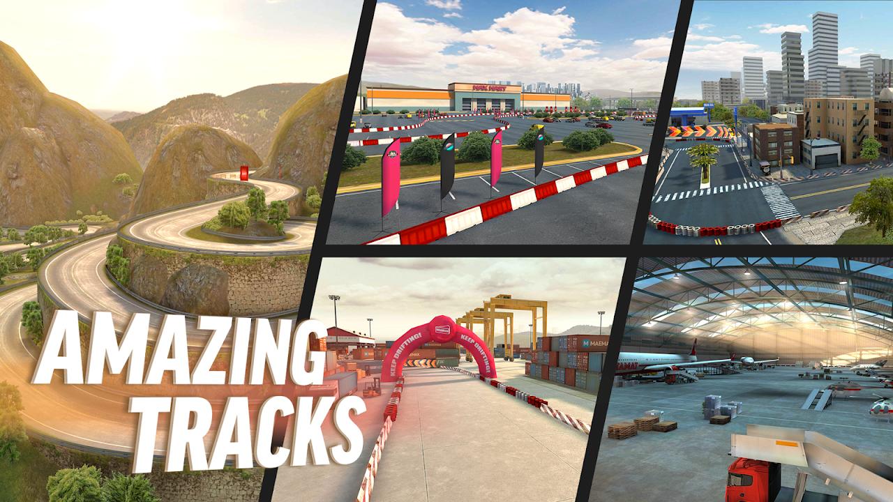 Drift Max Pro - Car Drifting Game with Racing Cars screenshot 1