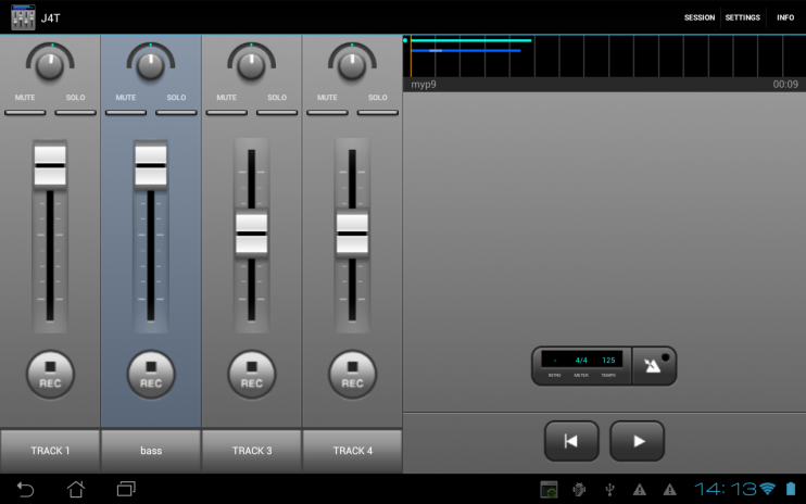 J4T Multitrack Recorder 4 7 85 Download APK for Android