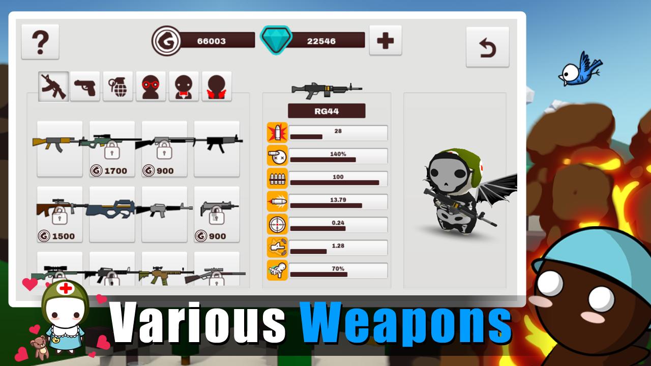 MilkChoco - Online FPS screenshot 5