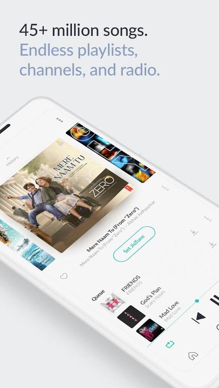 JioSaavn Music & Radio – including JioMusic screenshot 3