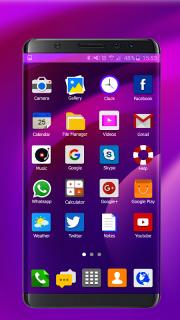 Theme for Samsung S8 Edge screenshot 1