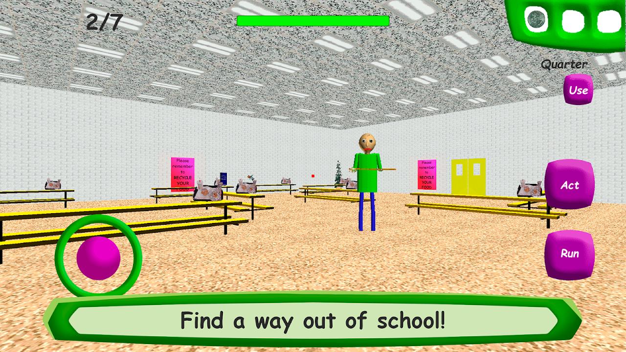 Baldi's Basics in Education screenshot 4