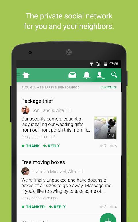 Nextdoor - Local neighborhood news & classifieds screenshot 1