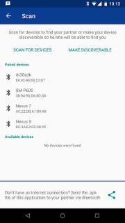 Bluetooth Chat screenshot 4