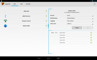 SuperSU Pro Screenshot