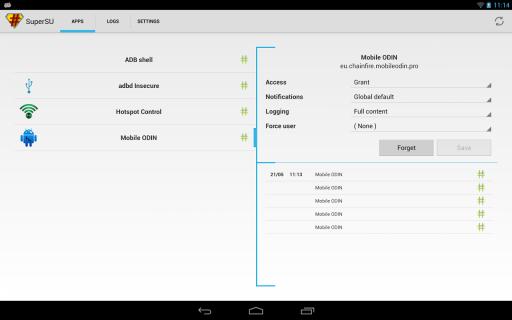 SuperSU Pro screenshot 8