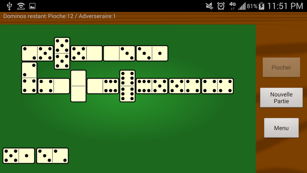 Classic Dominoes Game