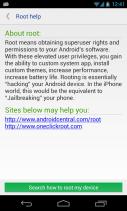 System app uninstaller Screenshot