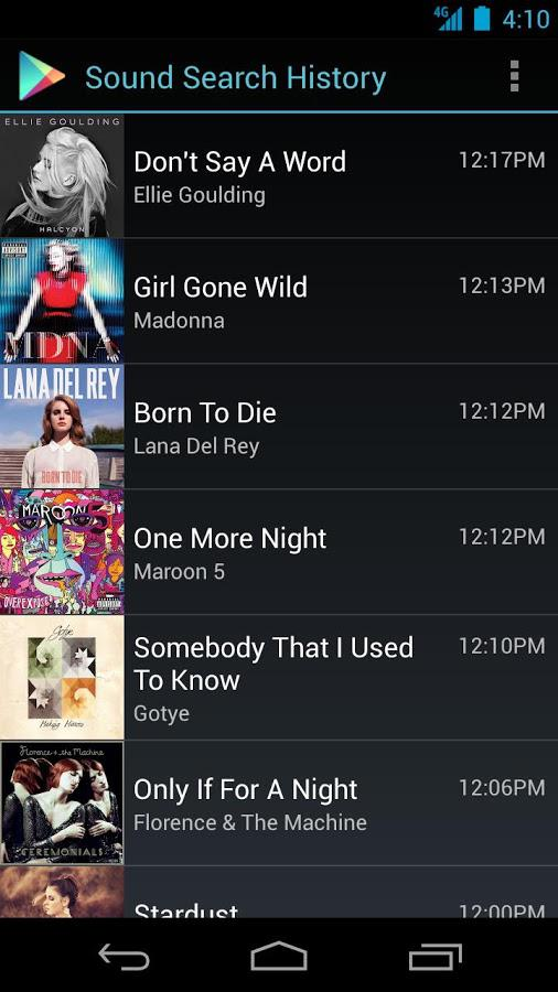 Sound Search for Google Play screenshot 4