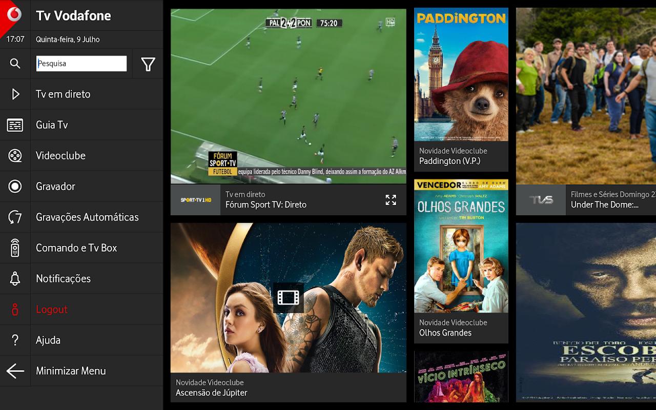 Tv Vodafone screenshot 1