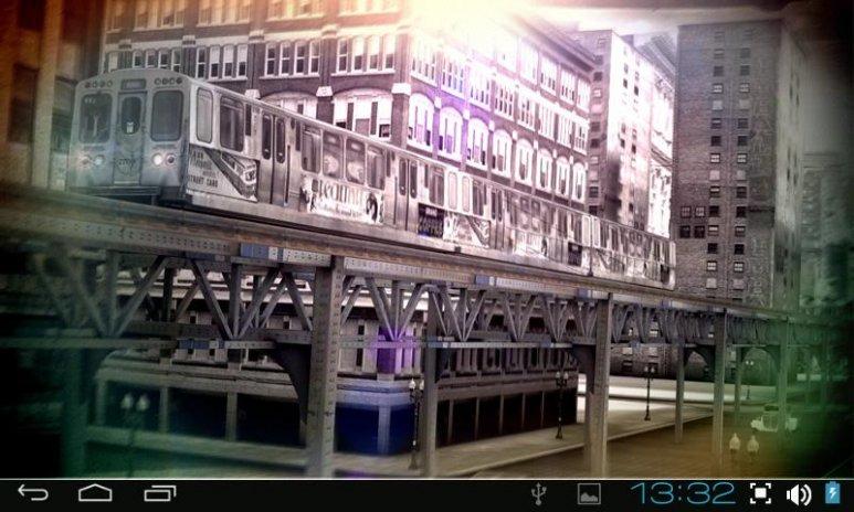 Chicago 3d Pro Live Wallpaper Screenshot 2