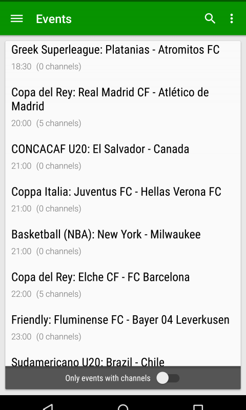 Libre Directo S (Online Sports) screenshot 2