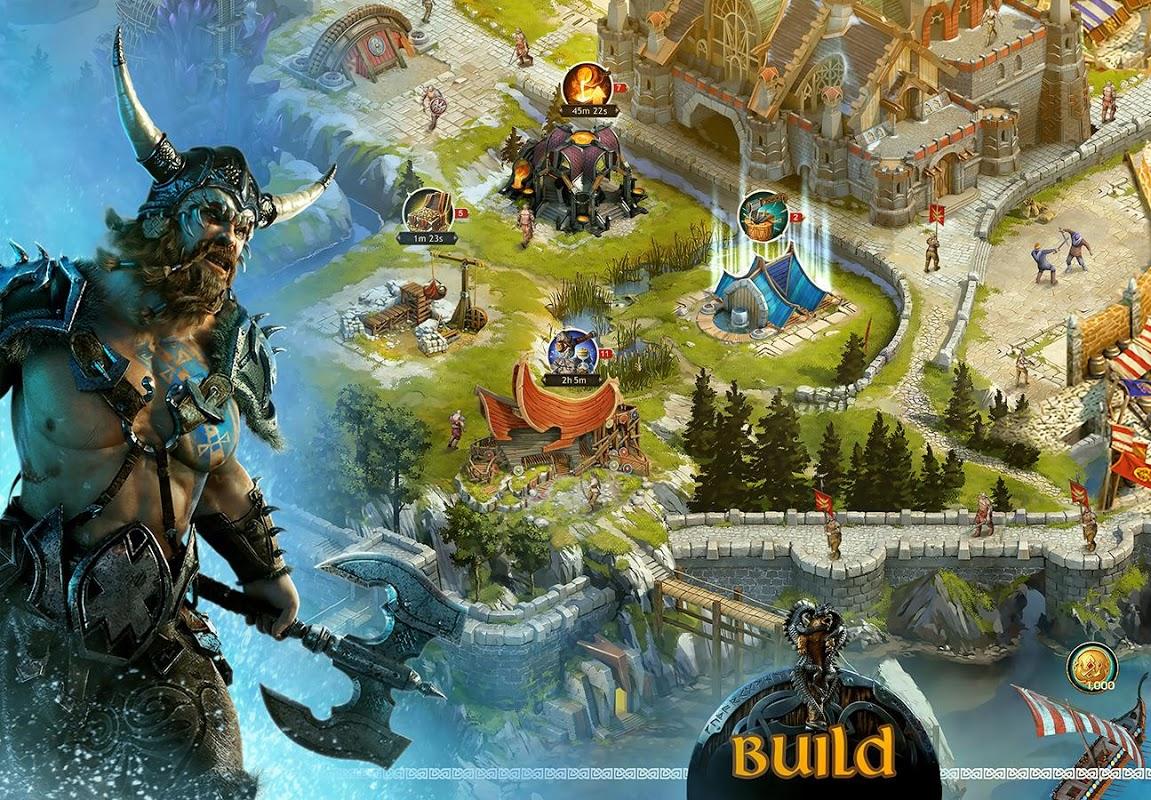 Vikings: War of Clans screenshot 1