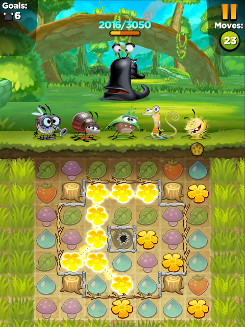 Best Fiends - Puzzle Adventure screenshot 2