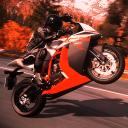 Moto Racing. Super bikes.
