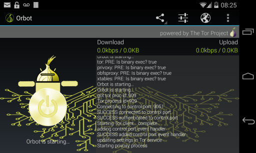 Orbot: Tor on Android screenshot 3
