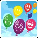 Game to burst air balloons