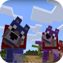 Colorful Mutant Wolves Mod for MCPE