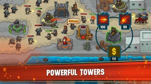 Steampunk Defense: Tower Defense screenshot 6