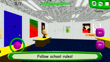 Baldi's Basics in Education Screen
