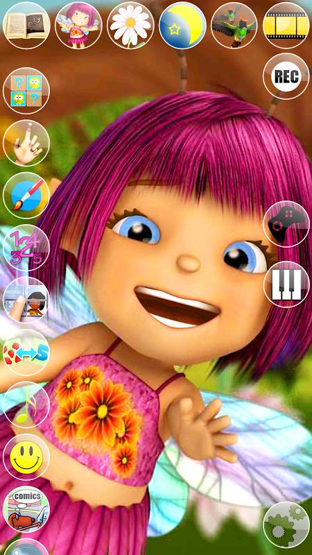 Talking Mary the Baby Fairy screenshot 1