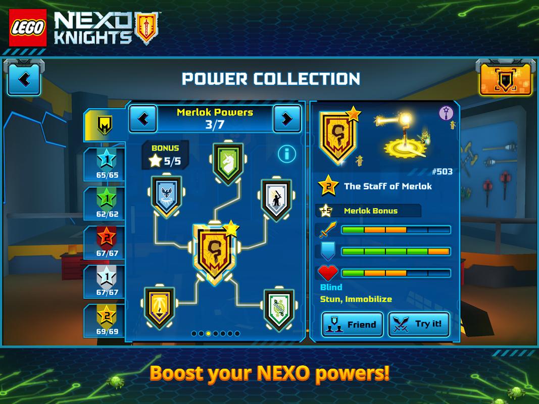 LEGO® NEXO KNIGHTS™: MERLOK 2.0 screenshot 4