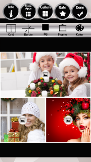 Xmas Wreath Photo Collage screenshot 3