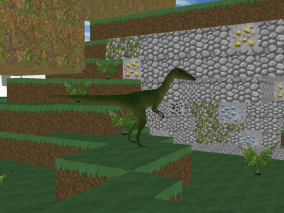 Jurassic craft - dino hunter Screenshot