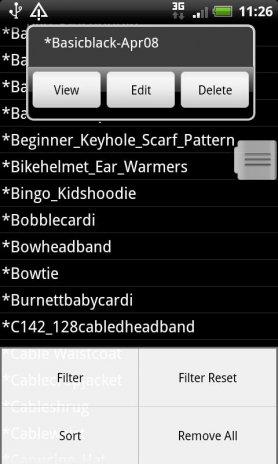 Knitting Patterns Database 545 Apk Aptoide