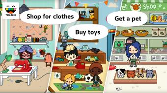 Toca City Screenshot