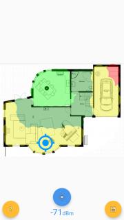 Wi-Fi Heatmap screenshot 1