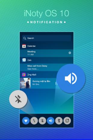 iNoty - iNotify OS 10 1 8 ดาวน์โหลด APKสำหรับแอนดรอยด์- Aptoide