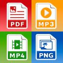 All Files Converter - PDF, DOC, JPG, GIF, MP3, AVI