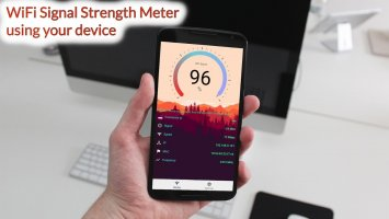 WiFi Signal Strength Meter Pro (no Ads) Screen