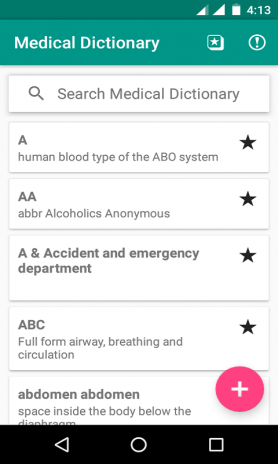 Offline Medical Dictionary 2 0 Download APK for Android